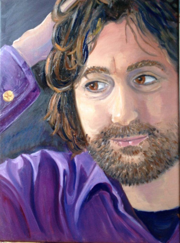 fot schilderij Kasper Bijgesneden